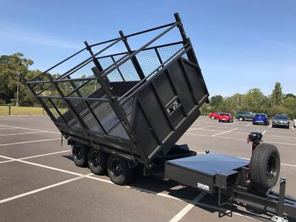 From only $108 p/week on finance* 12x7 Flatbed Tri-axel Trailer