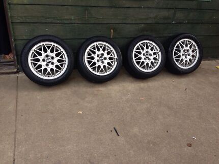 "Genuine 15"" BBS wheels 5/100 Slacks Creek Logan Area Preview"
