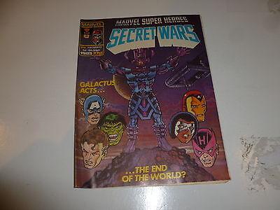 SECRET WARS Comic - No 8 - Date 16/08/1985 - Marvel comic