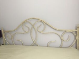 King Headboard and Frame