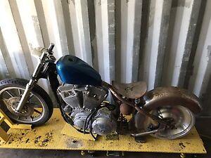 Sportster Project bike
