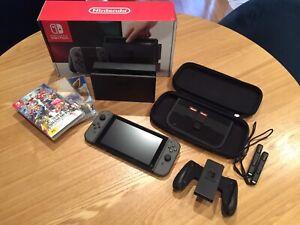 Nintendo Switch, 11 games & case