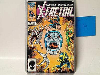 X-FACTOR Vol. 1 #6 Marvel Comics 1986  VG 1st full appearance Apocalypse