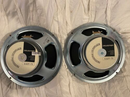 Celestion G12T-75 16ohm x2 (Pair)