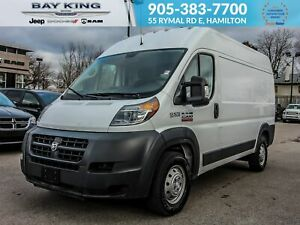 2018 Ram ProMaster 2500 HIGH ROOF, BACK UP CAM, BLUETOOTH, DEEP
