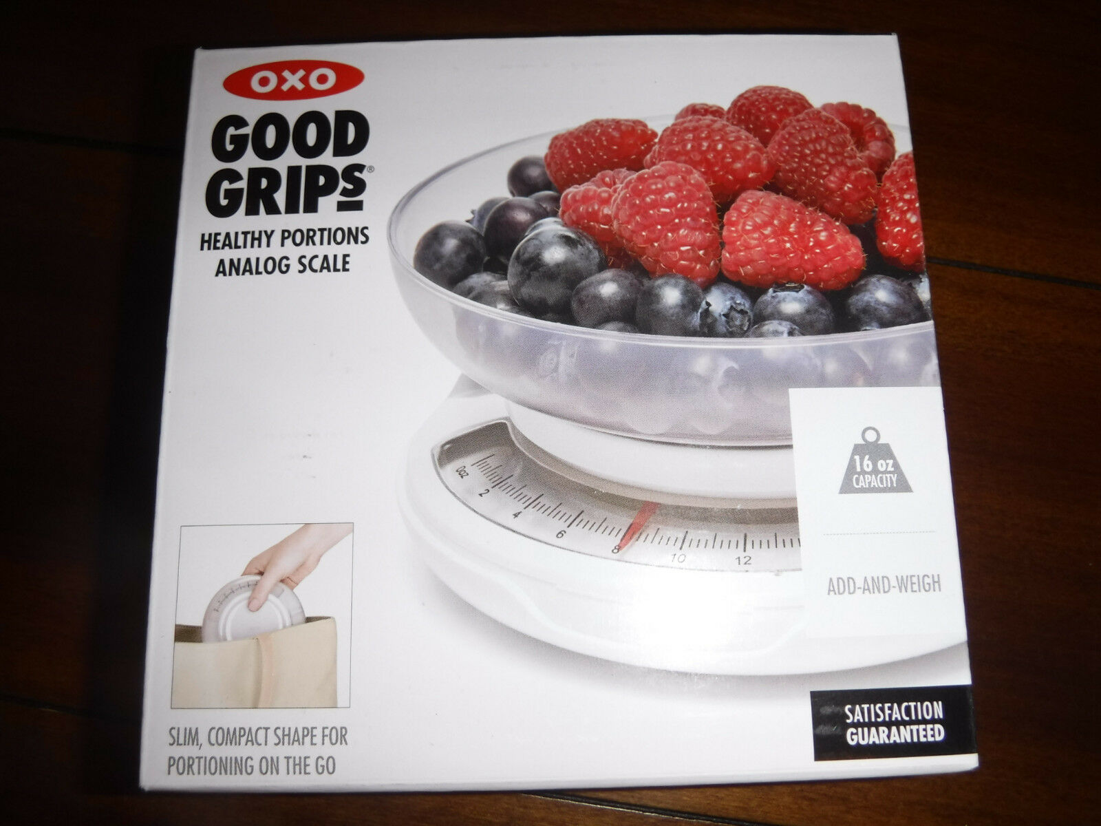 OXO Good Grips1271680 Portable Compact  Healthy Portions Control FOOD SCALE  NEW