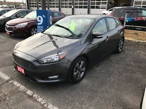 2016 Ford Focus SE BLUETOOTH, LOTS OF FUN WITH THIS FUEL EFFI...