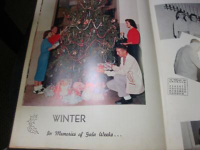 1958 Red Jacket Yearbook Jordan High School Columbus GA Bob Barr Band Director