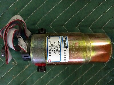 Pittman Gear Motor With Encoder Mgm14632s320 24vdc 19.71 Ratio 500 Cpr New