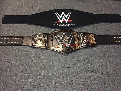 WWE AUTHENTIC Replica WORLD HEAVYWEIGHT CHAMPIONSHIP Commemorative TITLE BELT