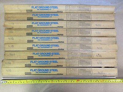 9 Pcs O1 Tool Sheet 18 X 18 X 18 Simonds Flat Ground Steel Oil Hardening