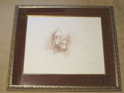 John Lennon & Yoko Ono, Limited Edition Print #87/300, Bag One Arts, 2001, CoA