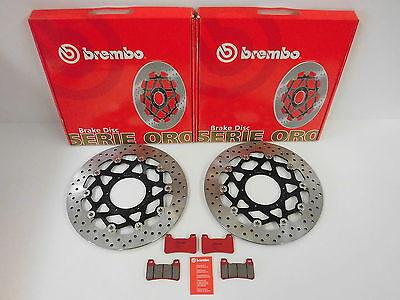 Brembo Bremsscheiben + Sinter Bremsbeläge vorne Honda CBR 600 RR / CBR 1000 RR