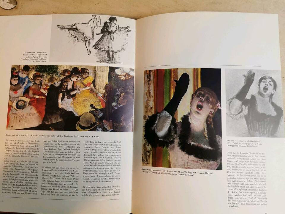 Edgar Degas Buch in Nordrhein-Westfalen - Nörvenich