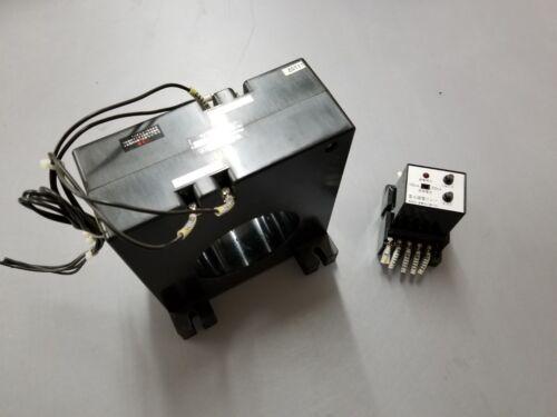Fuji Electric FA EL90PO 2CT11 100/200VAC Earth Leakage Relay Pair
