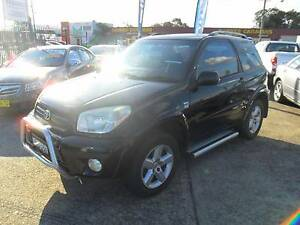 2004 Toyota RAV4 CRUISER 3 DOOR AUTOMATIC BLACK Wagon Lansvale Liverpool Area Preview