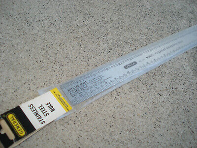 measuring tool HO S Scale Model Railroad Reference Rule #55777 O Gage
