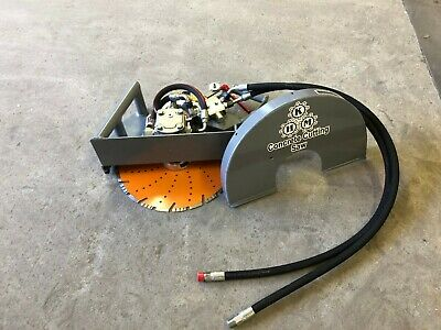 Concrete Cutting Hydraulic Handsaw Flush Combo - 16