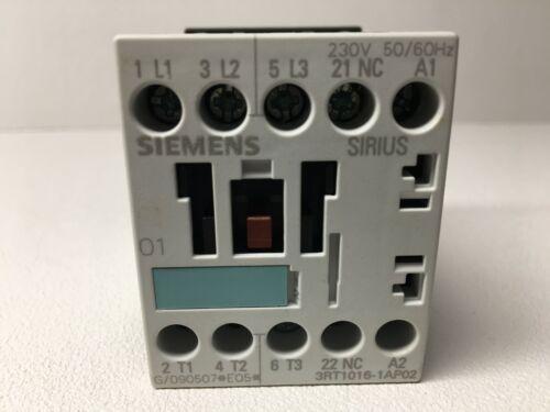 New! Siemens 3RT1016-1AP02 Contactor (#6133)