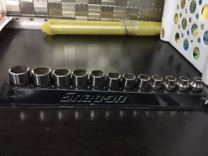 Snap on 3/8 drive metric socket set 8-19mm with magnetic tray