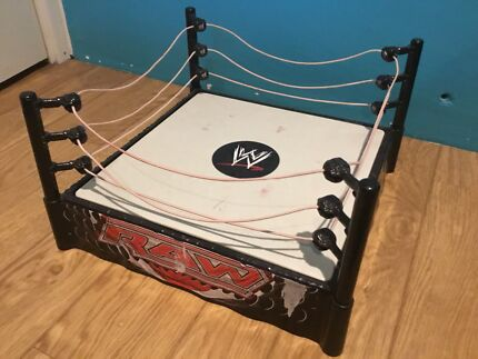 WWE RAW STEEL CAGE - WRESTLING RING - WRESTLERS -  Nollamara Stirling Area Preview