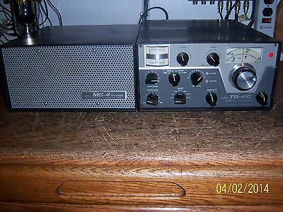 Drake Tr 4c Hf Transceiver, Ms 4 Speaker, Ac 4 Pow. Sup. For Parts Or Repair