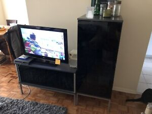 4pc tv and living room set