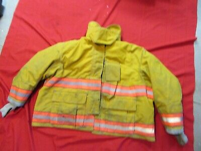 Globe Gx-7 Drd 54-2 X 29 Firefighter Jacket Coat Bunker Turn Out Gear Rescue