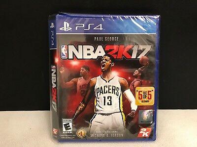 NBA 2K17 Standard Edition - PlayStation 4 - PS4 - BRAND NEW Damaged Case - READ comprar usado  Enviando para Brazil