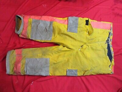 44 X 29 Janesville Firefighter Turnout Gear Bunker Gear Pants Thermal Liner Fire