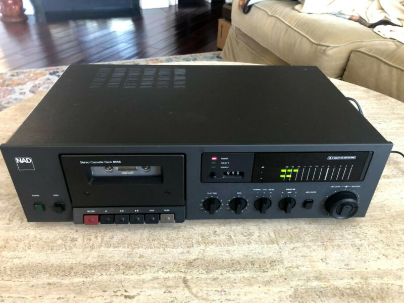 WORKING - NAD 6155 Stereo Cassette Deck