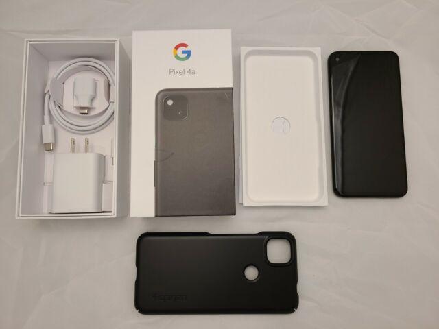 Google Pixel 4a G025J - 128GB - Just Black (Unlocked) Smartphone