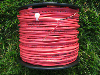 400 Red Fire Security Access Control Alarm Cable Wire 162 Fplr 16awg