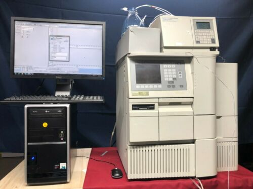 Waters 2695 HPLC with column heater, 2487 UV Detector and Empower 3  software