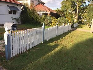 Picket Fence - 5 panels of 2250mm L x 900mm H Ryde Ryde Area Preview
