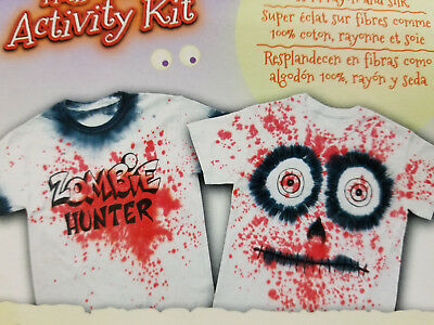 Halloween Activity Kit Dye & Decorate Your T-Shirts + Project Ideas!](Halloween Activity Ideas)