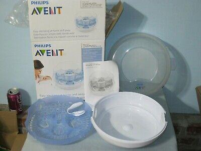 Philips Avent Microwave Steam Sterilizer Baby Bottles