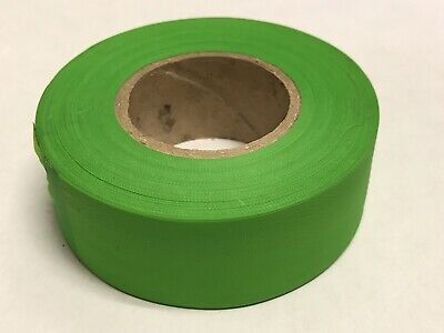 Green FREE SHIPPING 1 Order Contains 3 Rolls Surveyors/' Flagging Tape