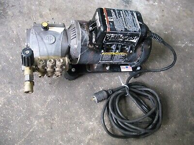 Electric Cart Pressure Washer Cold Water Type 2.0 Gpm 1500 Psi Tested