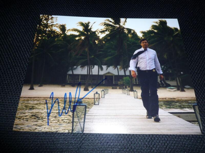 KYLE CHANDLER signed Autogramm 20x25 cm In Person BLOODLINE