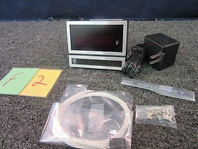 Weschler Nes Slimline Ii Thermocouple Thermometer Idt7761 Display Panel Meter