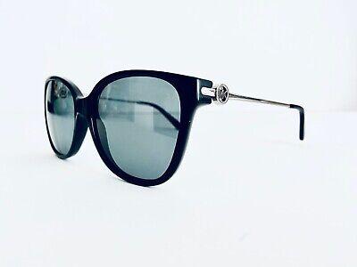 Michael Kors Black Classic Polarized Sunglass W Silver Temples MK6006 57 16 140