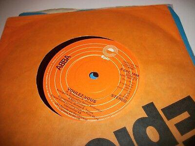 """ABBA- VOULEZ-VOUS VINYL 7"""" 45RPM co"""