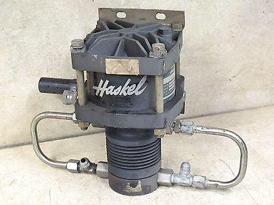 haskel air driven fluid pump manual