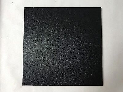 .250 ABS Plastic Sheet Textured Front Smooth Back Vacuum Forming THERMOFORMING Black 24x24x 1//4