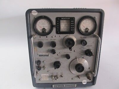 Hewlett Packard 608e Signal Generator - Untested Parts Or Repair