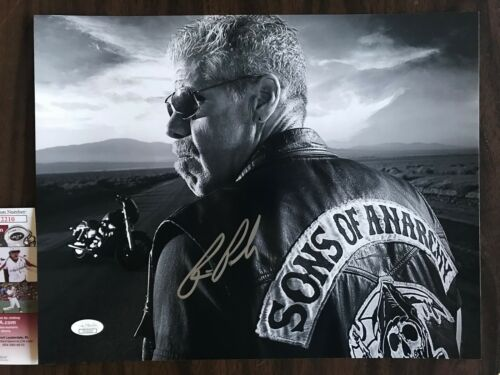 Sons of Anarchy Ron Perlman Autographed Signed 11x14 Photo JSA COA #3