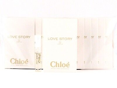 CHLOE LOVE STORY EDP 1.2ml .04fl oz x 12 PERFUME SPRAY SAMPLE VIALS SEALED