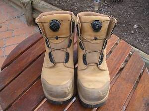 Steel Capped Work Boots Warner Pine Rivers Area Preview