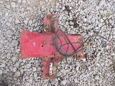 Ford 8n Tractor Dash Assembly Back Mount Key Switch Wires